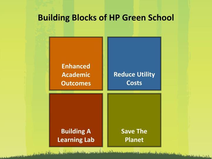 Building Blocks of HP Green School