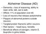 alzheimer disease ad
