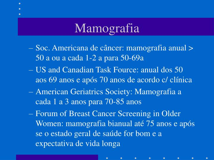 Mamografia