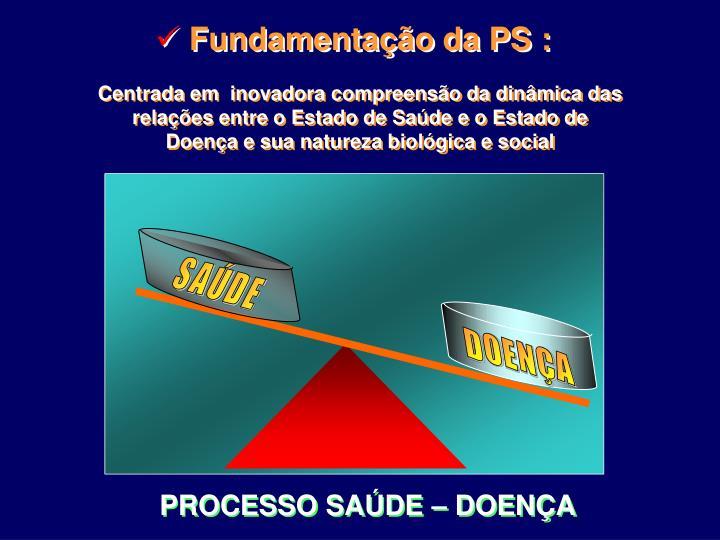 Fundamentação da PS :