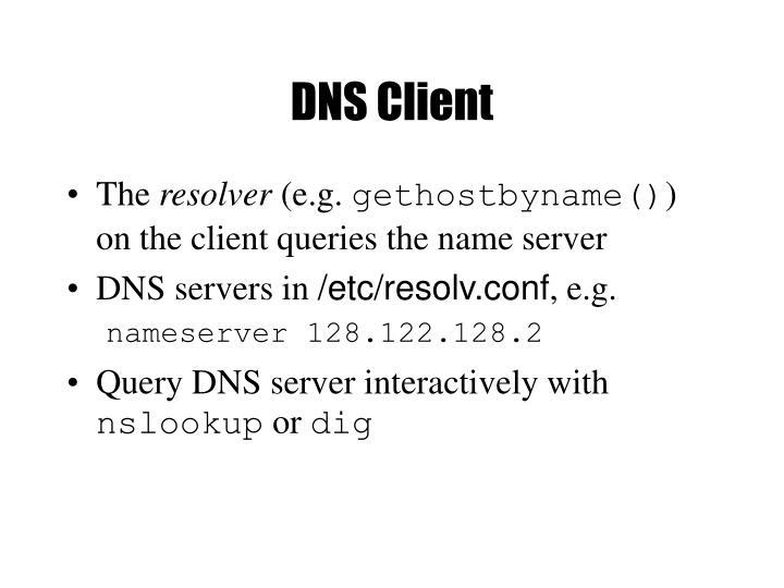 DNS Client