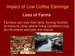 impact of low coffee earnings1