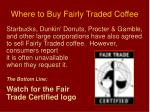 where to buy fairly traded coffee1