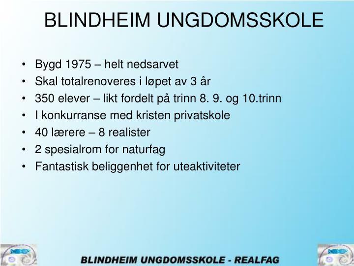 BLINDHEIM UNGDOMSSKOLE