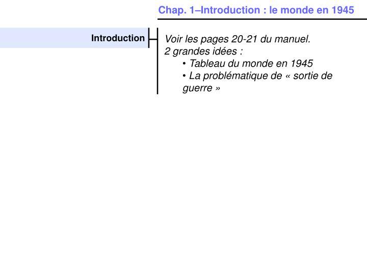 Chap. 1–Introduction: le monde en 1945