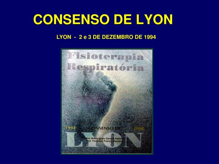 LYON  -  2 e 3 DE DEZEMBRO DE 1994
