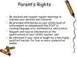 parent s rights