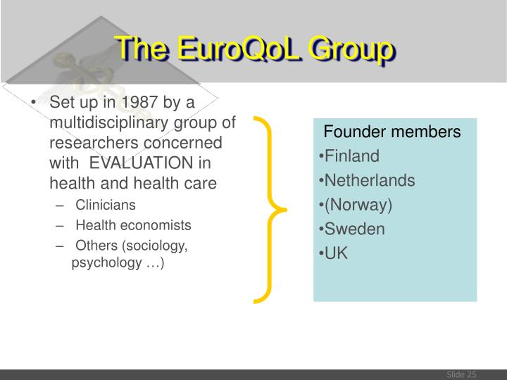 Set up in 1987 by a multidisciplinary group of researchers concerned with  EVALUATION in health and health care
