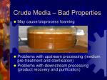 crude media bad properties1