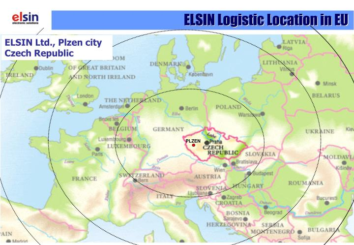 ELSIN Logistic Location in EU