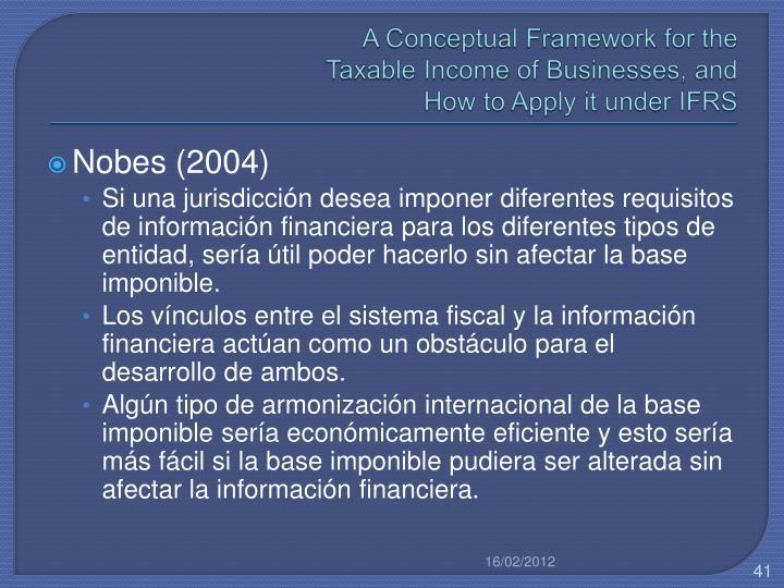 A Conceptual Framework for the