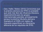 the influence of tax on ifrs consolidated statements the convergence of germany and the uk2