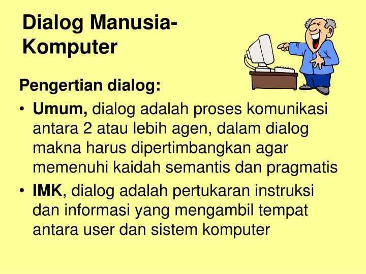 Dialog Manusia-