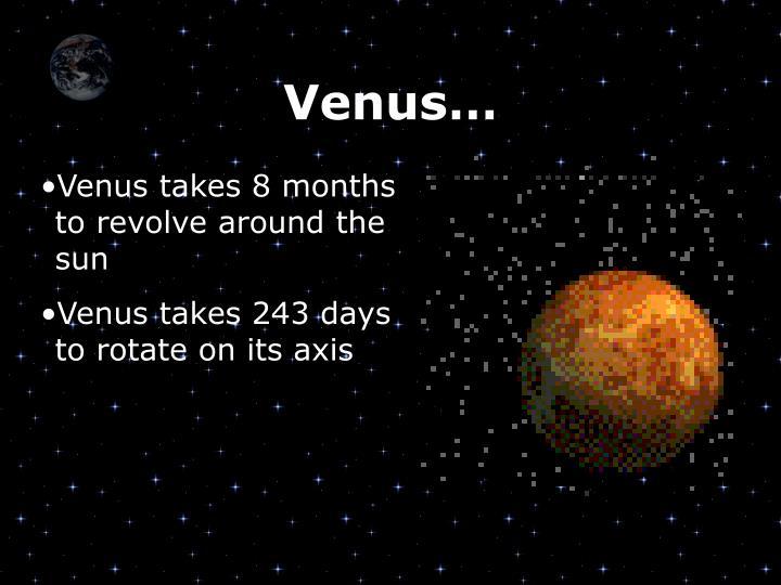 Venus…
