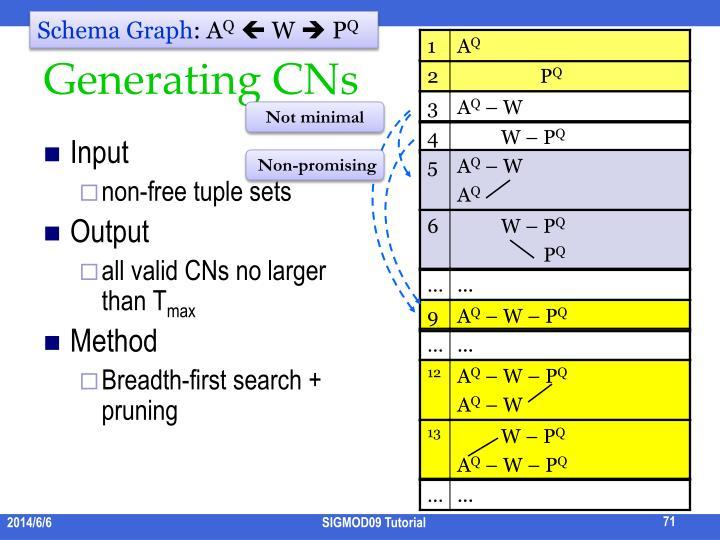 Schema Graph