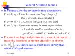 general solution cont