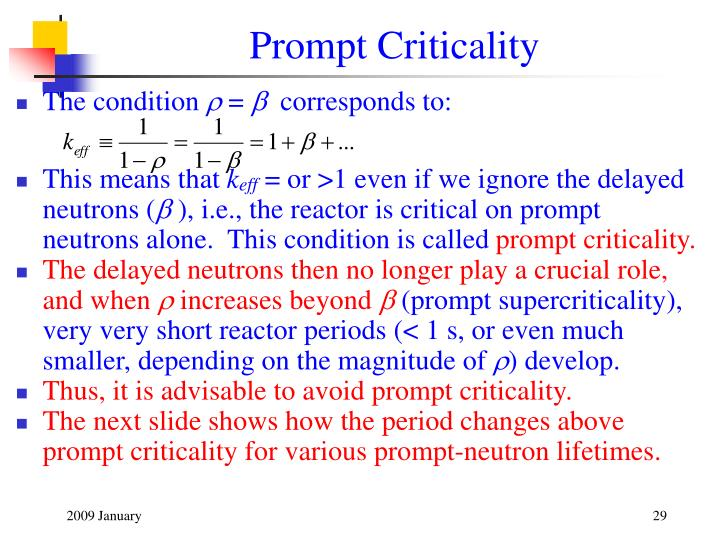 Prompt Criticality