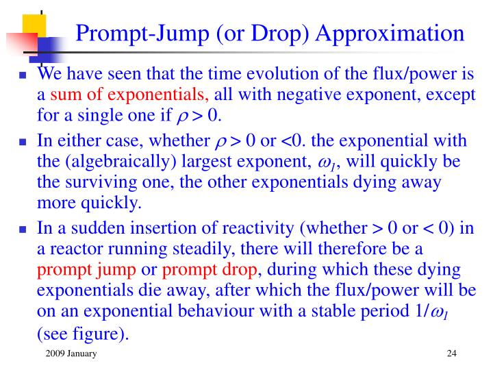 Prompt-Jump (or Drop) Approximation