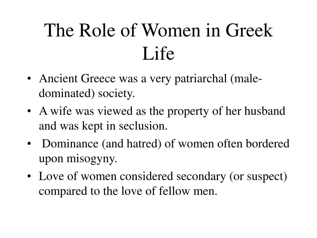 The Role of Women in Greek Life