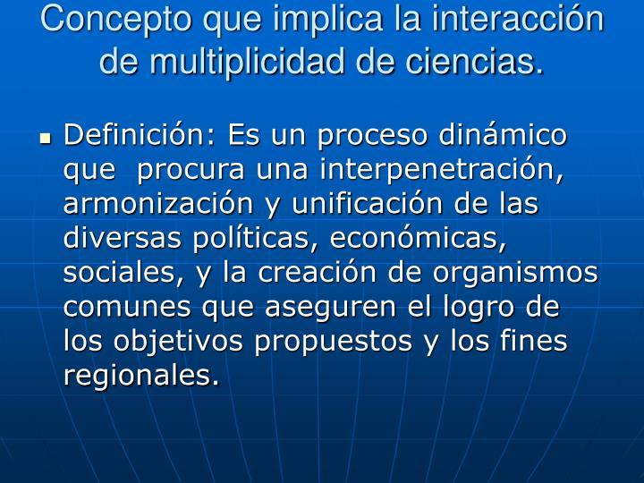 ¿Qué es la integración regional?