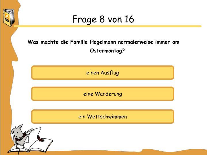 Frage 8 von 16