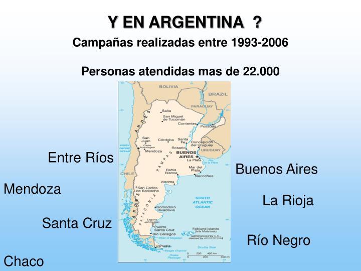 Y EN ARGENTINA  ?