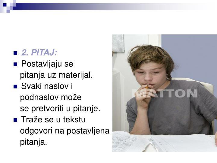 2. PITAJ: