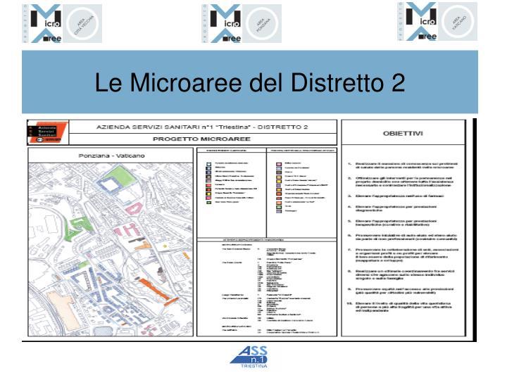 Le Microaree del Distretto 2
