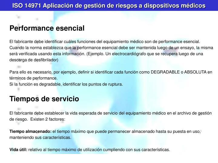 ISO 14971 Aplicación de gestión de riesgos a dispositivos médicos
