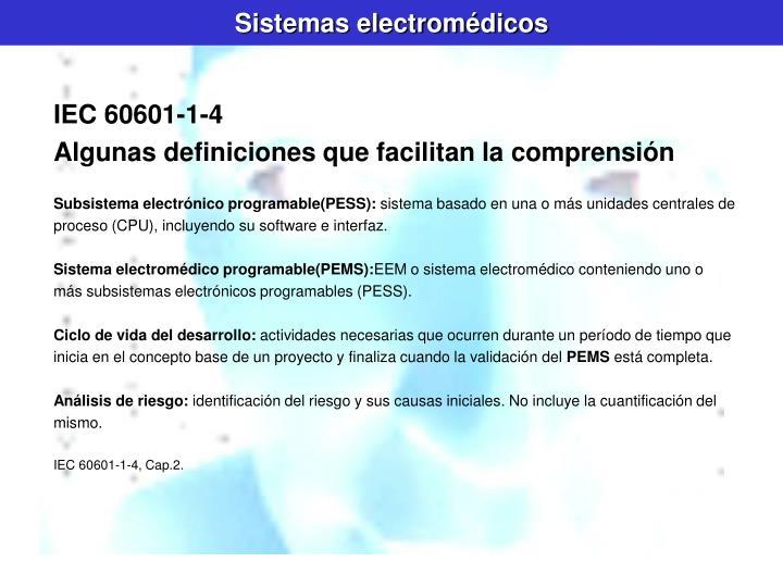 Sistemas electromédicos