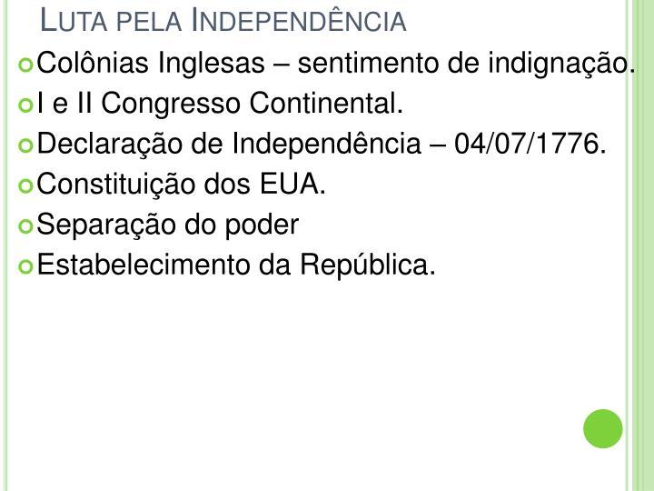 Luta pela Independência