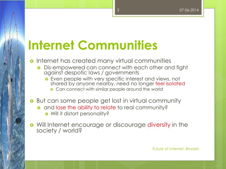 Internet Communities