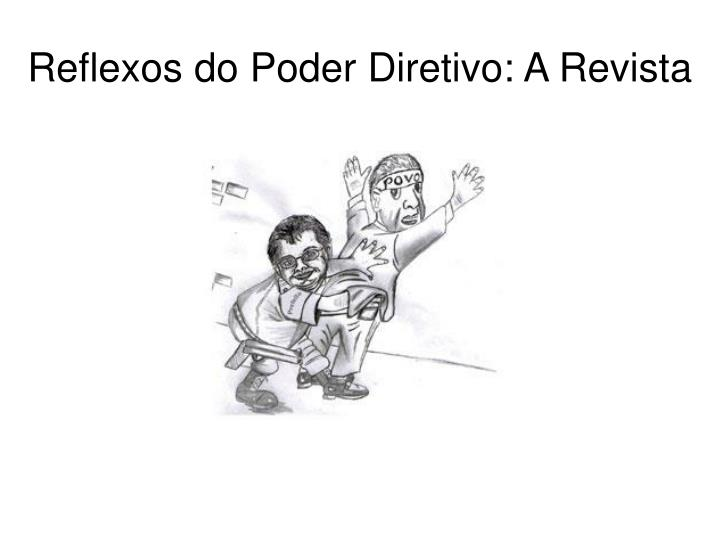 Reflexos do Poder Diretivo: A Revista