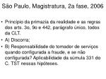 s o paulo magistratura 2a fase 20061