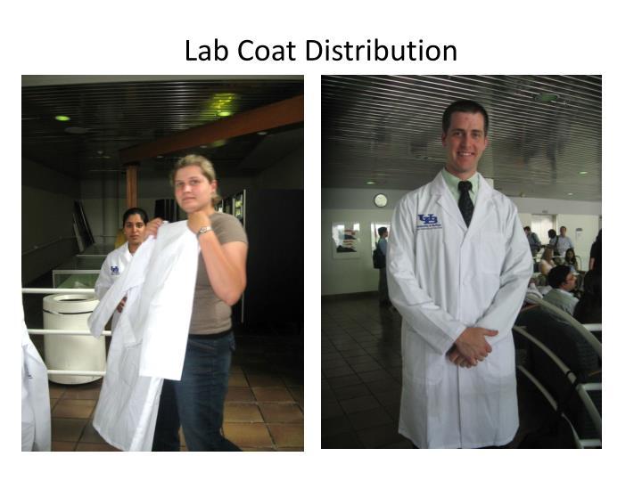 Lab Coat Distribution