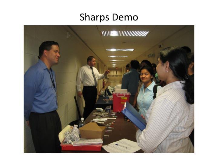 Sharps Demo