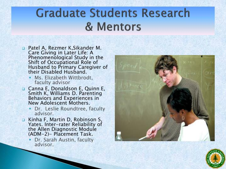 Graduate Students Research