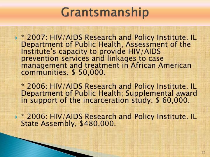 Grantsmanship