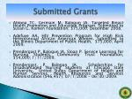 submitted grants