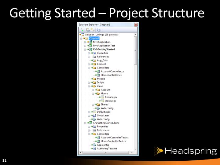 Getting Started – Project Structure