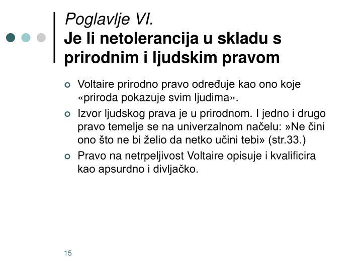Poglavlje VI.