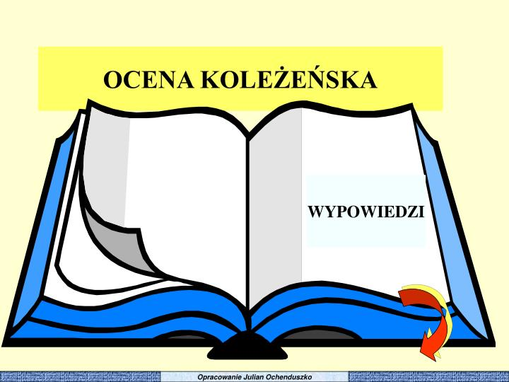 Opracowanie Julian Ochenduszko