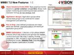 mimix 7 0 new features 1 2