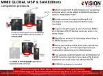mimix global iasp san editions companion products