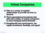 virtual companies