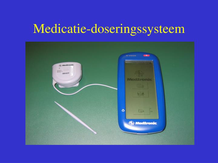 Medicatie-doseringssysteem