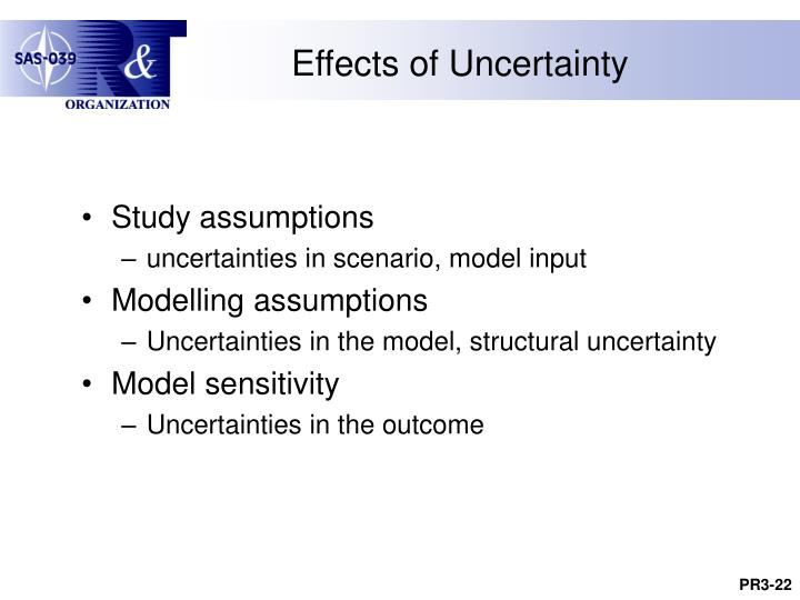 Effects of Uncertainty