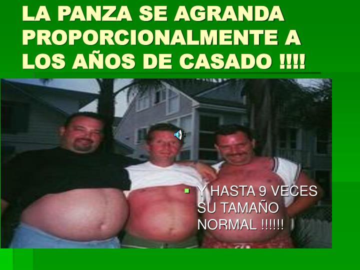 Y HASTA 9 VECES SU TAMAÑO NORMAL !!!!!!