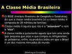 a classe m dia brasileira