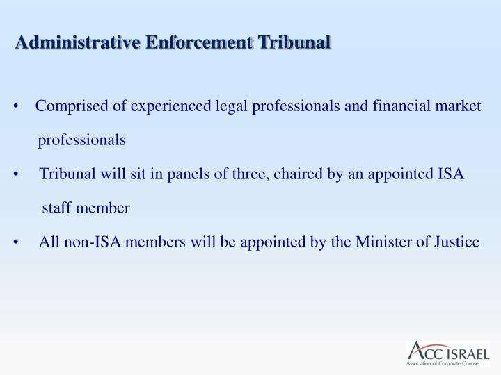 Administrative Enforcement Tribunal